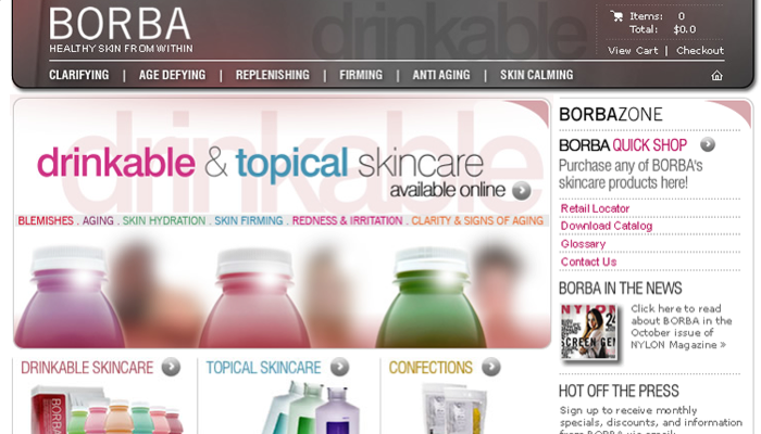 Borba Drinkable Skincare