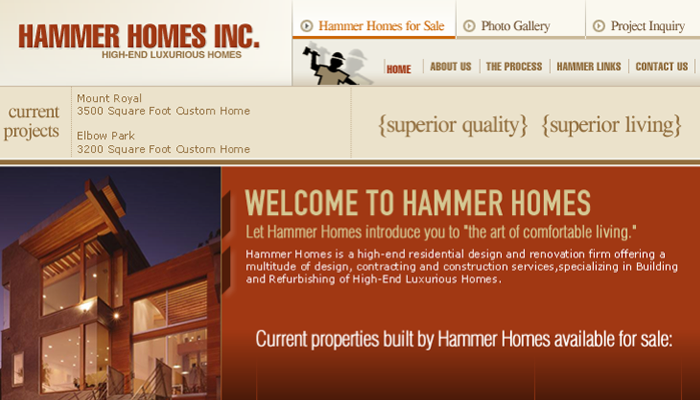 Hammer Homes Construction