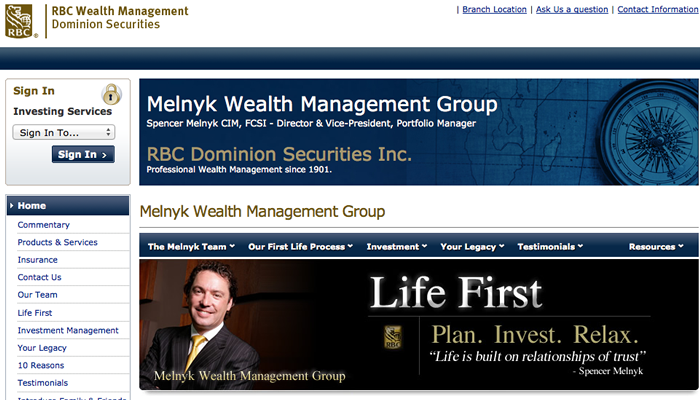 RBC Spencer Melnyk Wealth Management